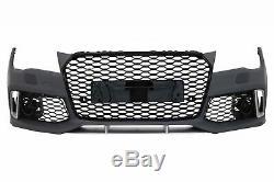 Pare-chocs avant pour AUDI A7 4G Pre-Facelift 10-14 RS7 Design avec Grille
