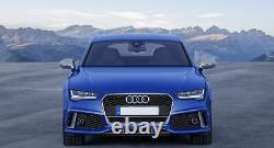 Pare-chocs avant pour Audi A7 4G Facelift 2015-2018 Grille RS7 Look