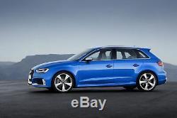 Pare-chocs pour Audi A3 8V Facelift 16-18 Hatch Sportback RS3 Look Noir Brillant
