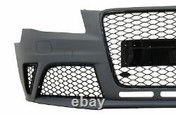Pare-chocs pour Audi A4 B8 Pre-Facelift 08-11 Diffuseur Embouts RS4 Look