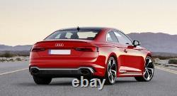 Pare-chocs pour Audi A5 F5 2017+ Diffuseur Embouts Quattro RS5 Look