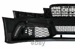 Pare-chocs pour Audi A6 C6 4F Berline Avant 04-10 RS6 Look Peigne miel Grilles