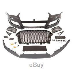 Parechoc Avant Look Rs3 Pour Audi A3 8v 3p + Sportback Phase 1 De 04/12 A 04/16