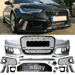 Parechoc Avant Look Rs6 Pour Audi A6 C7 Phase 1 De 2011 A 2015