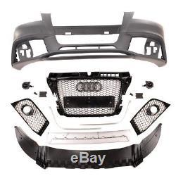 Parechoc Pare Choc Avant Look Rs3 Pour Audi A3 8p2 Phase 2 De 04/2008 A 2012