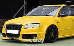 Performance avant Pare-Choc Spoiler/Séparateur/Bague pour Audi RS4 B7 04-08