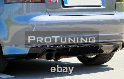 Pour Audi A3 8P 03-12 Pare-Chocs Arrière Spoiler S LINE Bague Jupe Module LIGNE