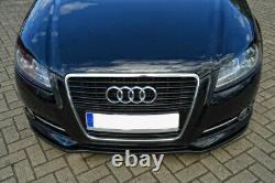 Pour Audi A3 8P Pare-Choc Coupe Jupe Inférieur Spoiler Menton Jupe Séparateur