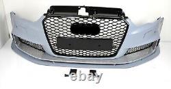 Pour Audi A3 8V RS3 Regardez Pare-Chocs 12-15 Calandre Nid D'Abeille Becquet