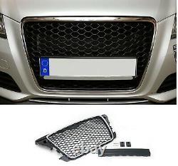 Pour Audi A3 S3 8P 04/2008- Calandre Sport Grill Rayon Grille Avec Cadre Chrome