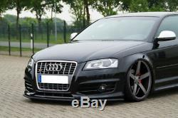 Pour Audi A3 S3 8P Pare-Choc avant Coupe Jupe Becquet Inférieur Menton