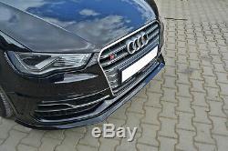 Pour Audi A3 S3 8V 13+ S LINE Pare-Choc avant Coupe Spoiler Menton Jupe Diviseur