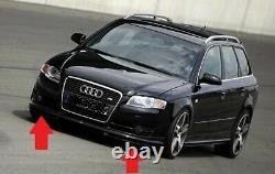 Pour Audi A4 B7 avant Pare-Choc Sport Inférieur Module Séparateur Jupe Bague