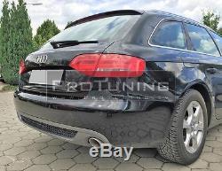 Pour Audi A4 B8 08-11 Se Pare-Chocs Arrière Spoiler Diffuseur Double Échappement