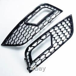 Pour Audi A4 B8 12-15 RS4 Regardez Calandre Nid D'Abeille Grille Diffuseur 11