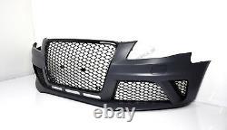 Pour Audi A4 B8 RS4 Regardez Pare-Chocs 07-12 Calandre Nid D'Abeille Spoiler
