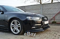 Pour Audi A4 S4 8K B8 Facelift Pare-Chocs avant Becquet Coupe Menton Jupe