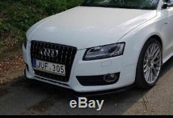 Pour Audi A4/S4 B8 avant Pare-Choc ABS Mat Bague / Séparateur 08-11