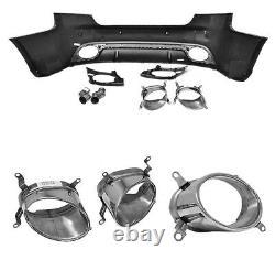 Pour Audi A5 8T 08-12 RS5 Look Pare-Chocs + Calandre Nid D'Abeille #099