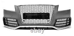 Pour Audi A5 8T 08-12 RS5 Look Pare-Chocs + Calandre Nid D'Abeille Grille