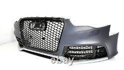 Pour Audi A5 8T 12-16 RS5 Look Pare-Chocs + Calandre Nid D'Abeille #08