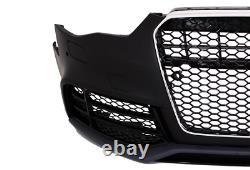 Pour Audi A5 8T 12-16 RS5 Look Pare-Chocs + Calandre Nid D'Abeille Grille