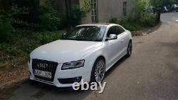 Pour Audi A5 S5 ABS Brillant avant Pare-Choc Spoiler Séparateur Jupe Bague 07-11