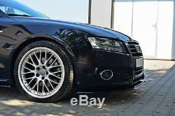 Pour Audi A5 S5 Pare Choc avant Bas Spoiler Lèvre Menton Jupe Séparateur S LINE