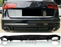 Pour Audi A6 4G 14-18 S-LINE Pare-Chocs Diffuseur RS6 Regardez Diffuseur
