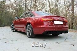 Pour Audi A6 C7 4G RS6 Modèle Arrière Jupe Pare-Choc Réflecteur Module