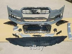 Pour Audi A6 C7 4G Style RS6 Pare-chocs avant complet