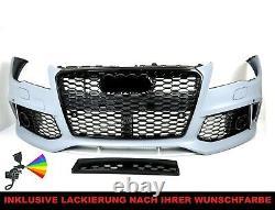 Pour Audi A6 C7 Pare-Chocs 11-14 Calandre RS6 Look + Homologation