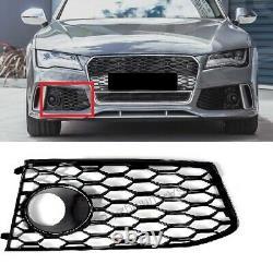 Pour Audi A7 4G 11-18 RS7 Regardez Acc à Gauche Blende Calandre Nid D'Abeille