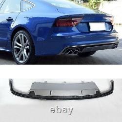 Pour Audi A7 4G S7 Diffuseur S7 RS7 Regardez Calandre Nid D'Abeille Pare-Chocs
