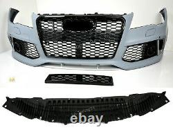 Pour Audi A7 C7 Pare-Chocs Sra/ Pdc 11-14 Calandre RS7 Look De + Homologation