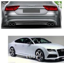 Pour Audi A7 C7 Vfl Sportback ABS Diffuseur S Tuning Avec Standard Pare-Chocs