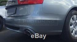 Pour Audi Berline A6 4G C7 11-15 Arrière Pare Chocs Diffuseur Spoiler S Sline