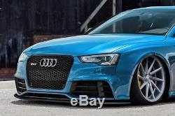 Pour Audi RS5 8t Pare-Choc avant Coupe Jupe Becquet Inférieur Menton Séparateur