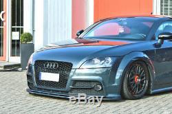 Pour Audi TTS 8J Pare-Choc avant Coupe Jupe Inférieur Spoiler Menton Séparateur
