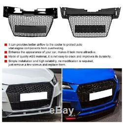 Pour TTRS Style voiture pare-chocs avant grille grillagée Fit pour Audi TT /