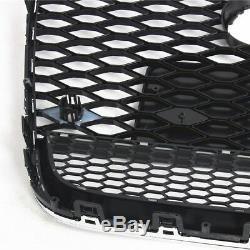 RS6 Style Nid d'abeille Pare-chocs avant supérieur Gril Pour AUDI A6 C7 4G 11-14