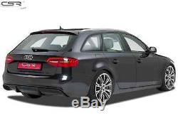 Rajout Parechoc Arriere Audi A4 B8 Avant 9/2007-12/2015 Sortie G Csr