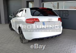 Réflecteur pour Audi A3 8P 08-12 Pare-Chocs Arrière Rs Spoiler Jupe Module