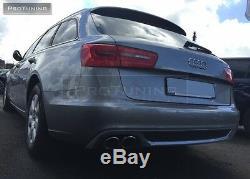 Réflecteur pour Audi A6 4G C7 avant 11-15 Se Pare-Chocs Arrière 5D Spoiler S
