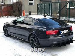 Réflecteur pour Audi S5 B8 8T Arrière s5 Pare-Choc Bas Spoiler Add Sur Côtes