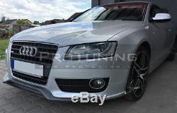 Rs Séparateur Pour Se Audi A5 Avant Pare-Choc Spoiler Bague Jupe Tablier Menton