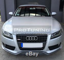 Rs Style Séparateur pour Audi A5 Se avant Pare-Choc Spoiler Bague Jupe Menton