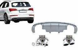 S-Line Pare-chocs Diffuseur d'air Pour Audi Q5 8R Facelift 2013-2016 SQ5 Look