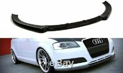 Se Pare Choc avant pour Audi A3 8p 08-13 Bas Spoiler Lèvre Coupe Menton Jupe