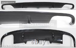 Se Pare-Chocs Double Réflecteur pour Audi A4 B8 08-11 Jupe Tablier